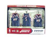 Houston Rockets Road Jersey Magnet Set