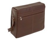 "Siamod San Francesco Leather 15"" Laptop Messenger Bag"
