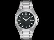 Bulova 96E111 Diamond Collection Men's Black Quartz Watch