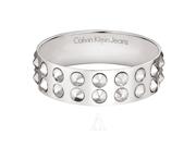 Calvin Klein Jeans Jewelry Studs Leather Women's  Bracelet KJ20AB0102XS
