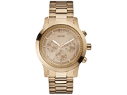 GUESS Rose Gold-Tone Stainless Steel Mens Watch U16003G1
