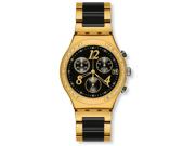Swatch Dreamnight Yellow Chronograph Ladies Watch YCG405G