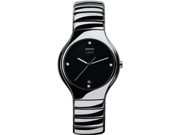 Rado True Jubile Platinum-tone Ceramic Mens Watch R27654742