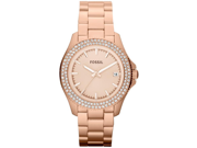 Fossil Retro Traveler Rose Gold-Tone Ladies Watch AM4454