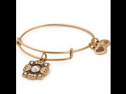 Alex And Ani Bride Gold Charm Bangle - A18BRID01RG