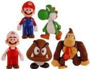 Super Mario Bros Figure Collector Set Of 5 9SIA1C10B10777