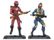 Gi Joe 25th Anniversary Comic 2 Pack Crimson Guard And Officer 9SIA6SV6N31163