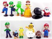 Nintendo Super Mario Bros Mini Figures Set Of 12 9SIA1C10B02883