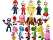 Super Mario Bros PVC Figure Collectors Set of 17 9SIA1C10B03086