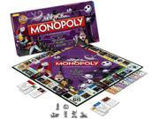 Nightmare Before Christmas Collectors Edition Monopoly Boardgame