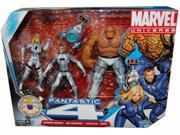 "Marvel Universe Super Hero Team 3 Pack 3 3/4"""" Figure Fantastic Four Invisible Woman, Mr Fantastic, Herbie And Thing"" 9SIAD245E26549"