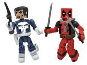 Marvel Minimates Best Of S2 Action Figure 2-Pack: Punisher/Deadpool 9SIAD2459Z5417