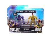 Real Steel Figure 2 Pack: Noisy Boy Vs Midas Gold-Blooded Killer 9SIAD245E32776