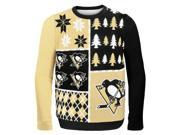 Pittsburgh Penguins NHL Busy Block Ugly Sweater XX-Large