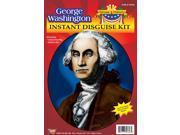 George Washington Wig & Jabot Disguise Adult Costume Kit 9SIA0110EC2459