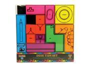 Tetris Desk Tidy 7 Piece Stationary Set