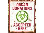 Organ Donations Sign Prop Decoration
