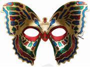 Butterfly Paradise Mardi Gras Costume Eye Mask
