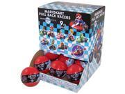 Super Mario Brothers Mario Kart Racers Gachaball Display Case Of 18