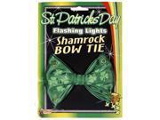 St Patricks Day Flashing Lights Costume Bowtie