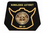 Transformers Masterpiece Bumblebee Collector's Coin 9SIA0192E55194