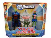 "DCU Young Justice 4"" Figure 2 Pk Martian Manhunter & Miss Martian"