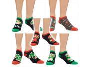 Super Mario Bros. Ankle Socks: 5 Pack