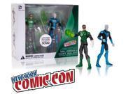 """DC Comics 3 3/4"""" Green Lantern Action Figures: Hal Jordan & Saint Walker (NYCC Exclusive)"""