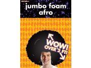 Giant Foam Afro Costume Hat
