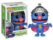 Sesame Street Funko POP TV Vinyl Figure Super Grover
