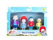 Ella the Elephant Action Figure 4-Pack Ella and Friends