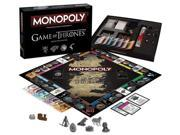 Game of Thrones Monopoly Board Game