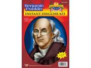 Benjamin Franklin Wig & Glasses Disguise Adult Costume Kit 9SIA01900018Z7