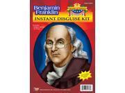 Benjamin Franklin Wig & Glasses Disguise Adult Costume Kit 9SIA01011R6135