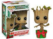 Guardians Of The Galaxy Funko POP Bobblehead Figure Holiday Dancing Groot 021-000M-00BZ3