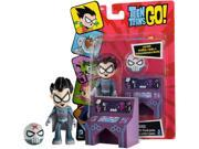 "Teen Titans Go 3"" Action Figure 2-Pack Red X with Hive Console"