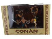 Conan The Frost Giant's Daughter 4-Piece PVC Figure Set