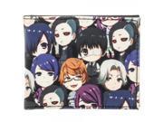 Tokyo Ghoul Chibi Characters Bi-Fold Wallet