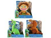 The Good Dinosaur Talking Plush Set Of 3