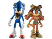 "Sonic Boom 3"""" Action Figure 2-Pack: Sonic & Sticks"" 9SIA0193N57485"