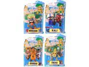 Tikimon Series 1 Set Of 4 Action Figures 9SIA0192085769
