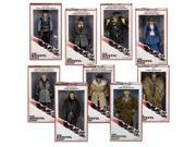 "The Hateful Eight Movie 8"""" Action Figure Set Of 9"" 9SIA01955E4106"