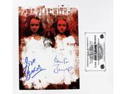 The Shining Twins Lisa and Louise Burns Autographed Picture