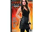 Sexy Biker Costume Skirt Adult One Size Fits Most 9SIA0190ZJ9155