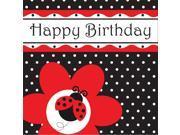 16 Pack Luncheon Napkins Ladybug Fancy 9SIA3G653Z5578