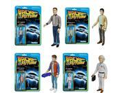 Back To The Future ReAction Figure Set Of 4 9SIA0193VB3758