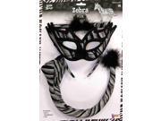Sexy Zebra Costume Accessory Kit Adult One Size 9SIA0190ZK2346