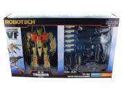 Robotech 1/100 Transformable Figure: VF-1D Trainer w/ Super Veritech Armor 9SIA01955E5022