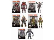 "Evolve Funko Legacy 6"""" Action Figures, Set of 5"" 9SIA0196KK2773"
