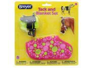 Breyer 1:12 Classic Model Horse Tack and Blanket Set, Pink & Green 9SIA0196NW2661
